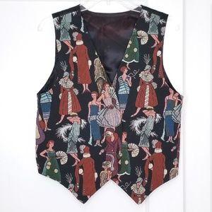 Vintage 90s Roaring 20s Flapper Vest